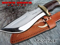 "COUTEAU DOWN UNDER ""RAZORBACK"""